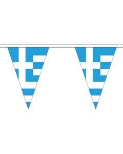 Grækenland Triangle Guirlander 5m (12 flag)