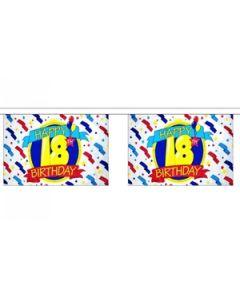 Happy 18th Birthday Guirlander 9m (30 flag)