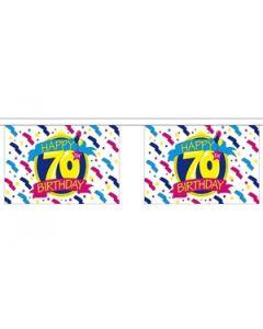 Happy 70th Birthday Guirlander 9m (30 flag)