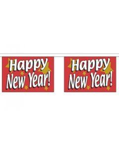 Happy New Year Guirlander 9m (30 flag)