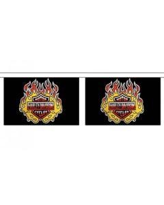 Harley Davidson Guirlander 3m (10 flag)