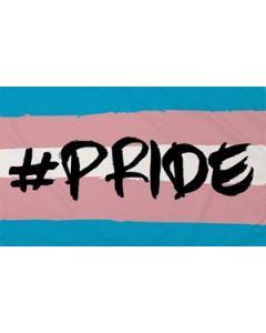 Hashtag Pride (Transgender) Flag (90x150cm)