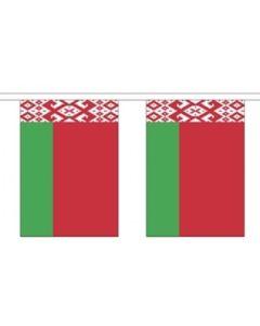 Hviderusland Guirlander 3m (10 flag)