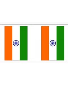 Indien Guirlander 3m (10 flag)