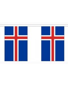 Island Guirlander 3m (10 flag)