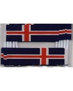 Island Kageflag (30x48mm)