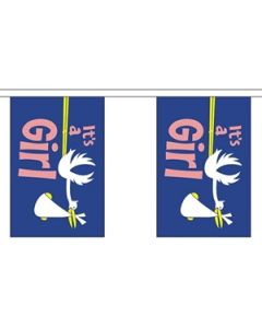 Its a Girl Guirlander 9m (30 flag)