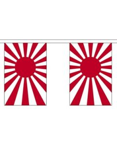 Japan Rising Sun Guirlander 9m (30 flag)