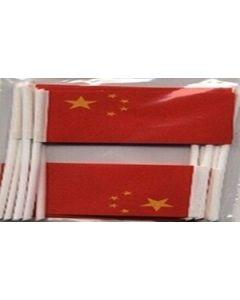 Kina Kageflag (30x48mm)