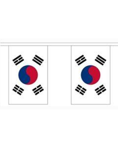 Korea, Syd Guirlander 3m (10 flag)