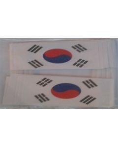 Korea, Syd Kageflag (30x48mm)
