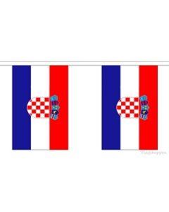 Kroatien Guirlander 9m (30 flag)