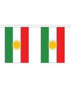Kurdistan Guirlander 3m (10 flag)