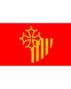 Languedoc-Roussillon Flag (90x150cm)