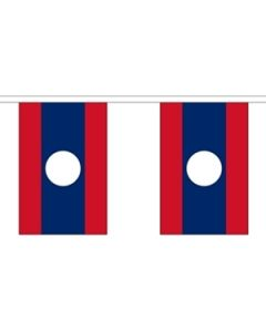 Laos Guirlander 3m (10 flag)