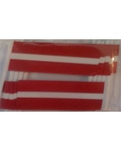 Letland Kageflag (30x48mm)