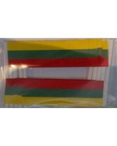 Litauen Kageflag (30x48mm)