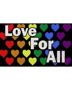 Love For All Flag (90x150cm)