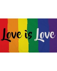 Love Is Love Flag (90x150cm)