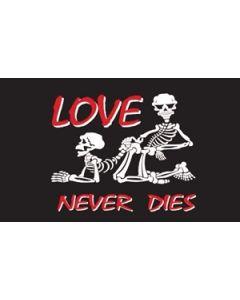 Love Never Dies Flag (60x90cm)