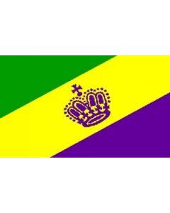 Mardi Gras Flag (90x150cm)