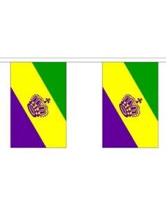 Mardi Gras Guirlander 9m (30 flag)