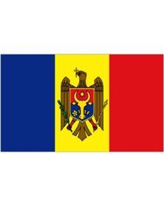 Moldova Satin Flag (15x22cm)