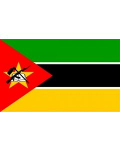 Mozambique Satin Flag (15x22cm)