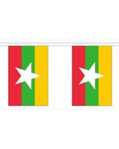 Myanmar (Burma) Guirlander 9m (30 flag)