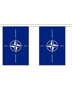 NATO Guirlander 3m (10 flag)