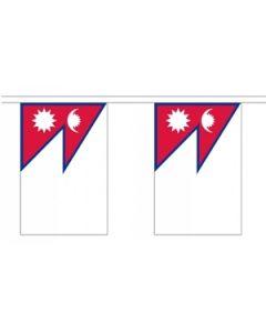 Nepal Guirlander 3m (10 flag)