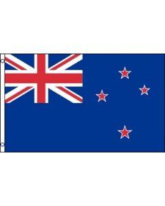 New Zealand Satin Flag (15x22cm)