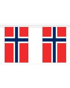 Norge Guirlander 3m (10 flag)