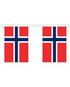 Norge Guirlander 9m (30 flag)