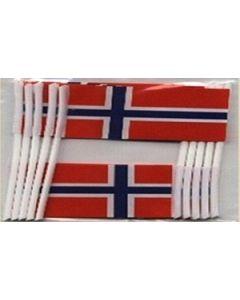 Norge Kageflag (30x48mm)