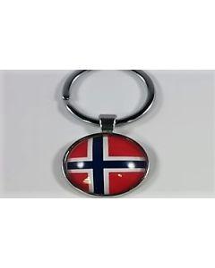 Norge Nøglering (25x60mm)