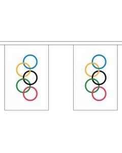 Olympic Guirlander 9m (30 flag)