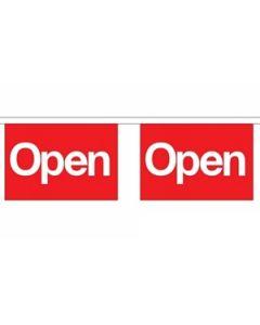 Open (Red) Guirlander 9m (30 flag)