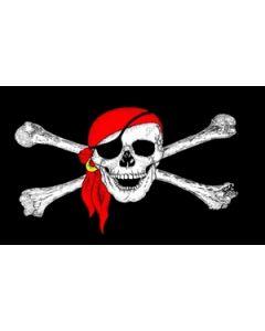 Pirate Bandana Flag (60x90cm)