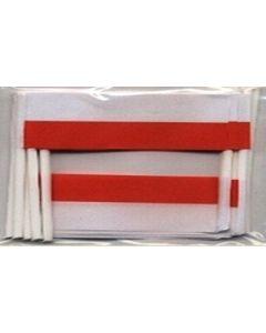 Polen Kageflag (30x48mm)