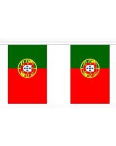 Portugal Guirlander 3m (10 flag)