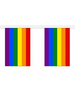 Rainbow Guirlander 3m (10 flag)
