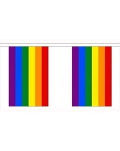 Rainbow Guirlander 9m (30 flag)