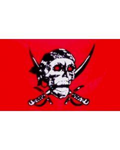 Red Skull Flag (60x90cm)