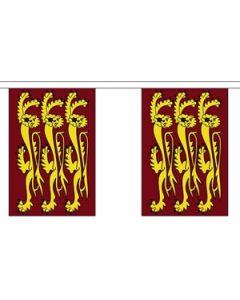 Richard The Lionheart Guirlander 3m (10 flag)