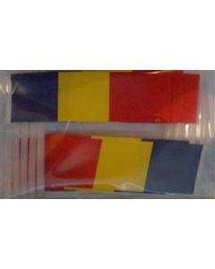 Rumænien Kageflag (30x48mm)