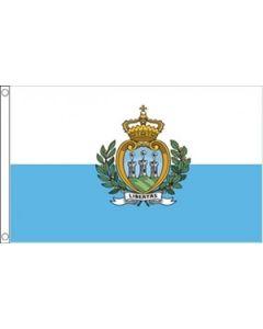 San Marino Stat Flag (90x150cm)