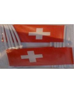 Schweiz Kageflag (30x48mm)