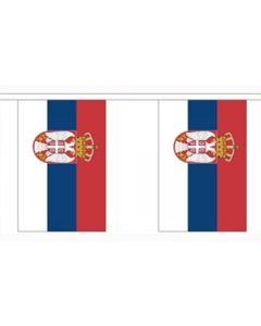 Serbien Stat Guirlander 3m (10 flag)