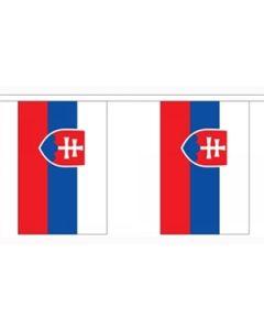 Slovakiet Guirlander 3m (10 flag)